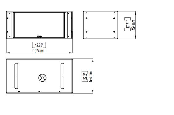 nexo caisson de basse rs 15c rev tement moquette gris. Black Bedroom Furniture Sets. Home Design Ideas