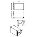 NEXO - Enceinte compacte 2 voies GEO S805PW - Assemblage verticale - Colori Blanc (Neuf)