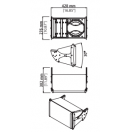 NEXO - Enceinte compacte 2 voies GEO S830PW - Assemblage verticale/horizontale - Colori Blanc (Neuf)