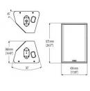 NEXO - Enceinte passive PS15 R2 - Gauche - Colori Blanc (Neuf)