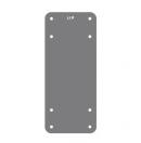 NEXO - Kit de contre plaque d'installation fixe pour LS18 (Neuf)