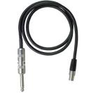 SHURE - WA 302 - Câble mini TQG - Jack 6.35mm droit de 75 cm pour émetteur ceinture (Neuf)