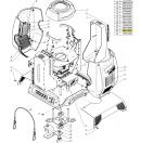 CLAY PAKY - Rondelle clip de vis quart de tour pour Omega de fixation camloc  (Neuf)