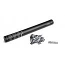 Canon à confettis métalliques manuel - 50cm - Argent (Neuf)