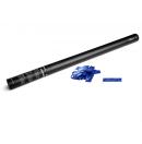 Canon à confettis métalliques manuel - 80cm - Bleu (Neuf)