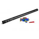 Canon à confettis métalliques manuel - 80cm - Multicolore (Neuf)