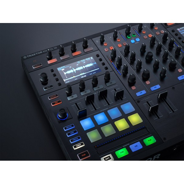 native instrument contr leur dj usb kontrol s8 neuf jsfrance. Black Bedroom Furniture Sets. Home Design Ideas