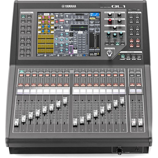Yamaha table de mixage num rique ql1 neuf jsfrance - Table de mixage amplifiee yamaha ...