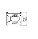NEXO - Plaques d'accroche pour RS15 - La paire (Neuf)