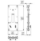NEXO - Plaque d'accroche pour RS18 - La paire (Neuf)