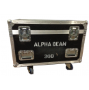 AMPTOWN - Flight-case pour 2 Alpha HPE/Beam/Spot/Wash 300 et 700 - mousses thermoformées incluses (Occasion)