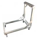 MoveX - Chariot Alu de transport pour 6 praticables position verticale 1x1m (Neuf)