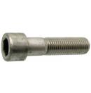 Vis à tête cylindrique à six pans creux - ISO 4762 DIN 912 acier classe 8.8 brut - 6x45mm (Neuf)