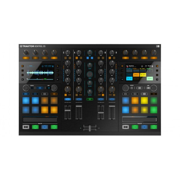 native instrument contr leur dj usb kontrol s5 neuf jsfrance. Black Bedroom Furniture Sets. Home Design Ideas