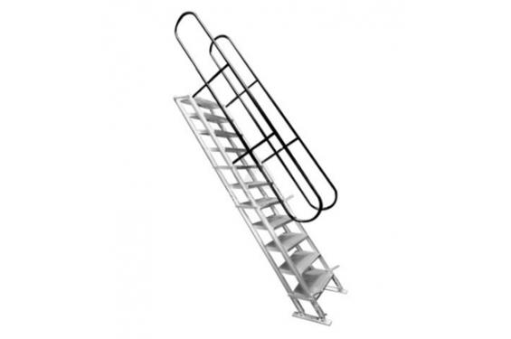 prolyte escalier ajustable de 290cm en hauteur 45 neuf jsfrance. Black Bedroom Furniture Sets. Home Design Ideas