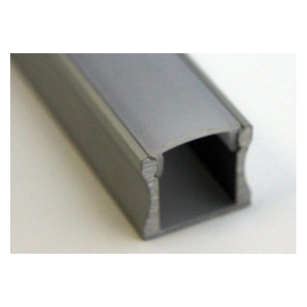 profil en aluminium anodis de 12mm int rieur diffuseur blanc opaque 3 m de long neuf. Black Bedroom Furniture Sets. Home Design Ideas