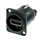 NEUTRIK - Embase femelle HDMI 1.4 avec boitier D neutrik - NAHDMI WB (Neuf)