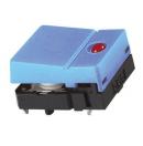 Commutateur tactile - 1NO/NO - 0,05A - 24V c.c.- Bleu (Neuf)