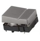 Commutateur tactile - 1NO/NO - 0,05A - 24V c.c.- Gris (Neuf)