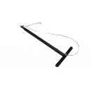 Barre de sous perchage Pro réglable de 1m à 1m80 - noir (Neuf)