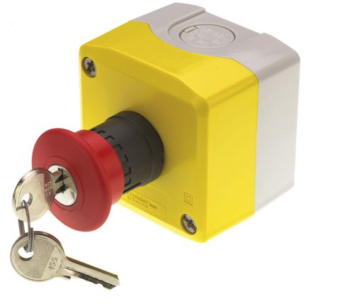 Schneider electric bouton d 39 arr t d 39 urgence diam tre 40mm no 2nc ip65 neuf jsfrance - Bouton arret d urgence ...