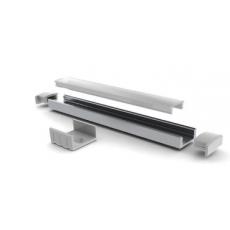 VELLEMAN - Profilé de 7mm en aluminium + Diffuseur opaque pour flexibles à LEDs - 2m (Neuf)