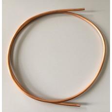 """MDG - Mètre de tuyau de cuivre 3/16"""" (4mm) de 17"""" avec olive pour machine à fumée ICE FOG (Neuf)"""