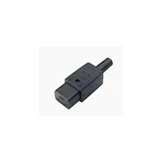 Fiche Femelle noir C19 -  pour les ampli QSC - 16A 220V (Neuf)