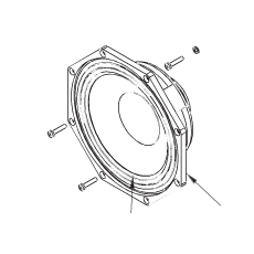 Haut-Parleur  8 pouces - 8ohms - Néodyme pour enceinte Nexo PS 8  (Neuf)