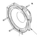 NEXO - Haut-Parleur  8 pouces - 8ohms - Néodyme pour enceinte Nexo PS 8  (Neuf)