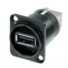 NEUTRIK - Embase USB réversible NAUSB USB - Noir (Neuf)