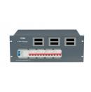 SHOWTEC - Bloc d'alimentation PSA-63A4C - Module tétra 63A  4 x tétra 32A (Neuf)
