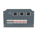 SHOWTEC - Bloc d'alimentation PSA-125A4C - Module tétra 125A  4 x tétra 63A (Neuf)
