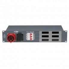 SHOWTEC - Bloc d'alimentation PSA 16A3S - Module tétra 1 x 16A => 6 x tétra 16A (Neuf)