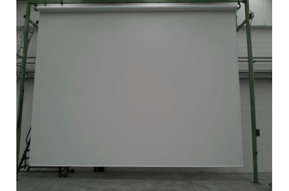 Ecran de projection motoris 700x554cm livr avec for Ecran de projection mural