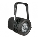 SHOWTEC - Par led Spectral M1500 Q4 MK2 - 7 x 12W - RGBW - Zoom réglable de 8° à 40° (Neuf)