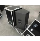 MoveX - Flight-case pour 2 enceintes QSC KW 122 (Neuf)
