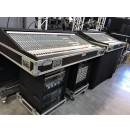 SOUNDCRAFT - Set complet - 2 x Tables de mixages analogiques MH-3 32 canaux + PSU + rack effets/traitements - Livrés en Flight c