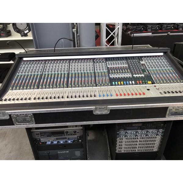 Soundcraft set complet 2 x tables de mixages analogiques mh 3 32 canaux psu rack effets - Table de mixage dynacord occasion ...