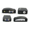 AV LINK - Convertisseur VGA vers HDMI + R/L Audio (Neuf)