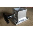 Adaptateur pour ajouter une roulette sur les pieds de praticable - tubes 48/50mm ronds ou carrés (Neuf)