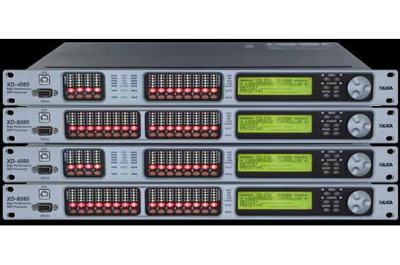 XILICO - Processeur XD 4080 - 4 entrées/ 8 sorties (Neuf)