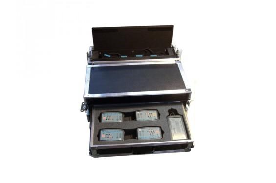 ALTAIR - Flight-case valise vide pour 1xWBS200 + 4xWBP200/202 + 1WPBC200 + 4 WAM100 (Neuf)