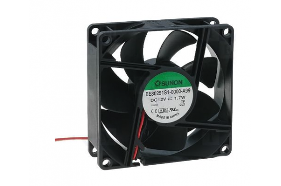 SUNON - Ventilateur 80x80x25 mm - EE80251S1 - 12V (Neuf)