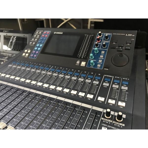 Yamaha table de mixage num rique ls9 16 occasion jsfrance for Table yamaha