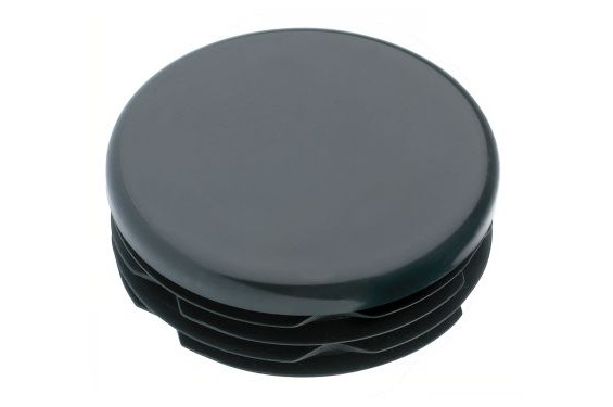 Bouchon / embout  rond noir diamètre 35x11.5 mm (Neuf)