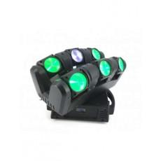 NICOLS - INDECURVE 6 - Barre à 6 projecteurs à LEDs 12W RGBW (Neuf)