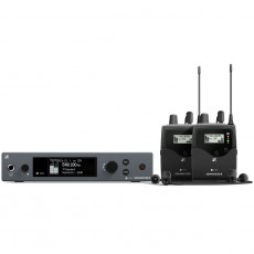 SENNHEISER - Emetteur/2 x récepteurs  sans fil + Ecouteur EW IEM G4 (Neuf)