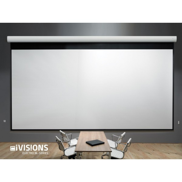 i visions ecran de projection lectrique proxl 6m x 3. Black Bedroom Furniture Sets. Home Design Ideas