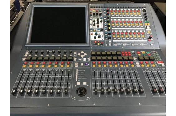 Midas Table De Mixage Numerique Pro2c Livree En Flight Case